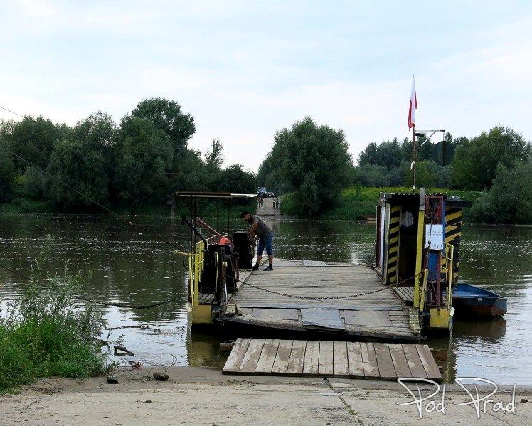 Przeprawa promowa Świniary - Baranów Sandomierski