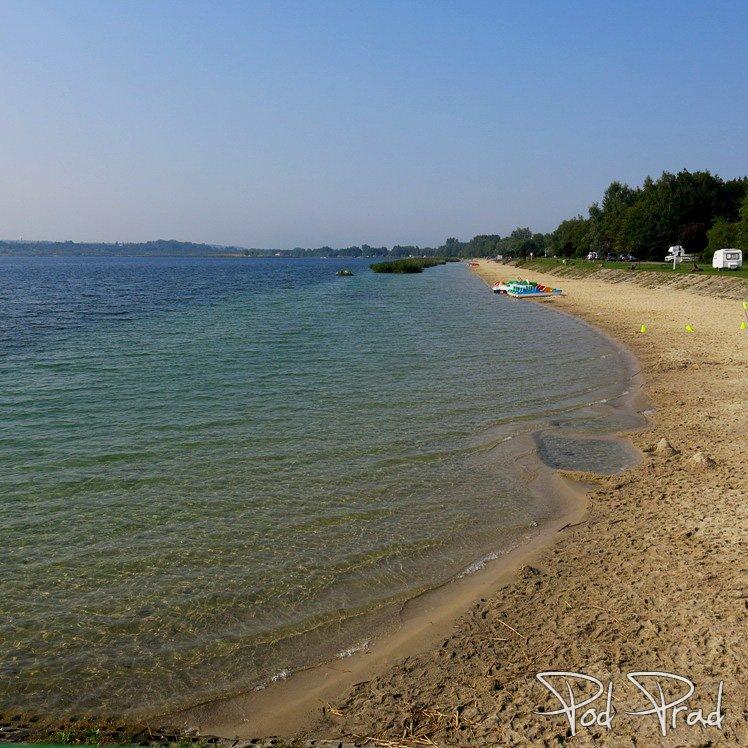 Nad brzegiem Jeziora Tarnobrzeskiego